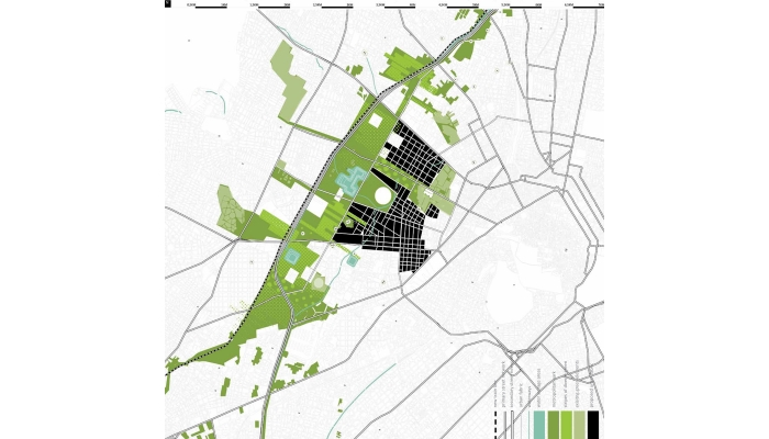 4. Design proposal combining metropolitan and local